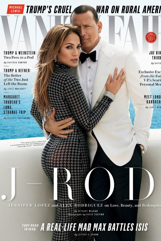 JENNIFER LOPEZ and Аlex Rodriguez for Vanity Fair Magazine, December 2017