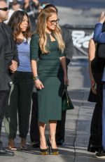 JENNIFER LOPEZ and Alex Rodriguez Arriving at Jimmy Kimmel Live 10/02/2017