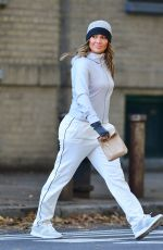 JENNIFER LOPEZ Arrives on the Set of Second Act in New York 10/27/2017