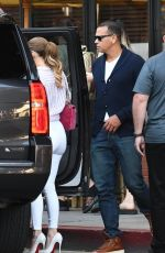 JENNIFER LOPEZ Out and About in Beverly Hills 10/06/2017