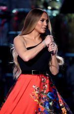 JENNIFER LOPEZ Performs at One Coice: Somos Live! a Concert for Disaster Relief in Los Angeles 10/14/2017