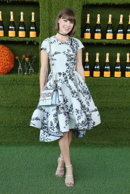 JENNY CIPOLETTI at 8th Annual Veuve Clicquot Polo Classic in Los Angeles 10/14/2017