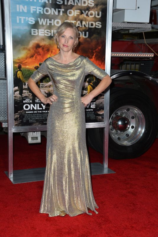 JENNY GABRIELLE at Only the Brave Premiere in Westwood 10/08/2017