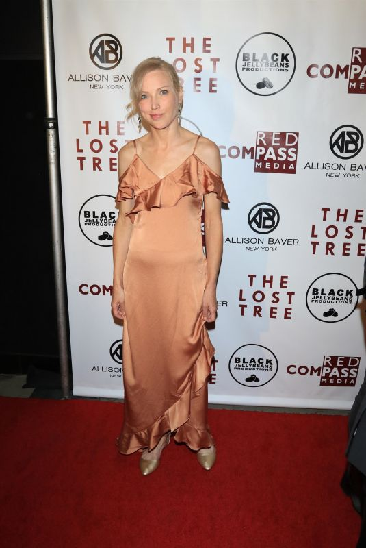 JENNY GABRIELLE at The Lost Tree Premiere in Los Angeles 10/09/2017