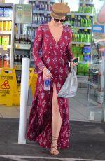 JESINTA FRANKLIN at a Gas Station Sydney 10/15/2017