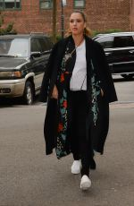 JESSICA ALBA Out in New Yotk 10/26/2017