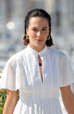 JESSICA BROWN-FINDLAY at Harlots TV Show Photocall at Mipcom in Cannes 10/16/2017