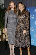 JESSICA CHASTAIN and SARAH JESSICA PARKER at 4th Annual Produced by: New York 2017 Conference and Educational Forum in New York 10/28/2017