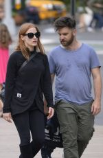 JESSICA CHASTAIN at Lincoln Center in New York 10/07/2017