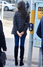 JESSICA GOMES at Airport in Sydney 10/18/2017