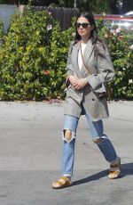 JESSICA GOMES Out and About in Los Angeles 10/13/2017
