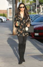 JESSICA GOMES Out and About in West Hollywood 10/03/2017