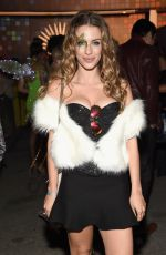 JESSICA LOWNDES at Tequila Casamigos Halloween Bash in Los Angeles 10/27/2017