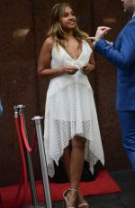 JESSICA MAUBOY Promotes The Secret Daughter at Sunrise in Sydney 10/12/2017
