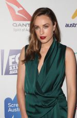JESSICA MCNAMEE at 6th Annual Australians in Film Award and Benefit Dinner in Los Angeles 10/18/2017