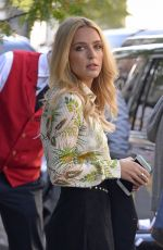 JESSICA ROTHE Leaves Her Hotel in New York 10/13/2017