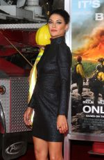 JESSICA SZOHR at Only the Brave Premiere in Westwood 10/08/2017