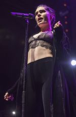 JESSIE J Performs at Manchester Albert Hall 10/09/2017