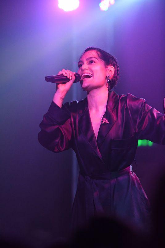 JESSIE J Preforms at Troubadour Nightclub in Los Angeles 10/27/2017
