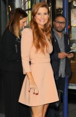 JOANNA GARCIA Leaves Her Hotel in New York 10/18/2017