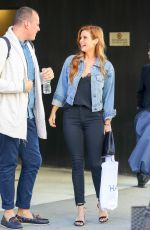 JOANNA GARCIA Out and About in New York 10/19/2017
