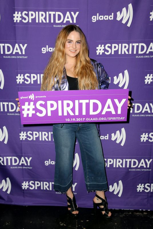 JOANNA JOJO LEVESQUE at Justin Tranter and Glaad Present Believer Spirit Day Concert in Los Angeles 01/18/2017