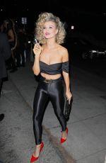 JOANNA KRUPA at Tequila Casamigos Halloween Bash in Los Angeles 10/27/2017