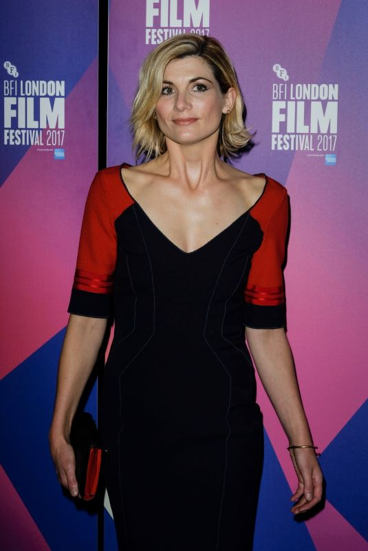 JODIE WHITTAKER at Journeyman Premiere at BFI London Film Festival 10/12/2017
