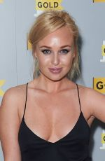 JORGIE PORTER at UKTV's Comedy Channel Hold 25th Anniversary Party in London 10/11/2017