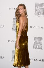 JOSEPHINE SKRIVER at Bulgari Celebrates 5th Avenue Flagship Store Opening in New York 10/20/2017