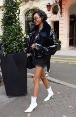 JOURDAN DUNN ut in paris, france during paris fashion week 10/02/2017   picture pub