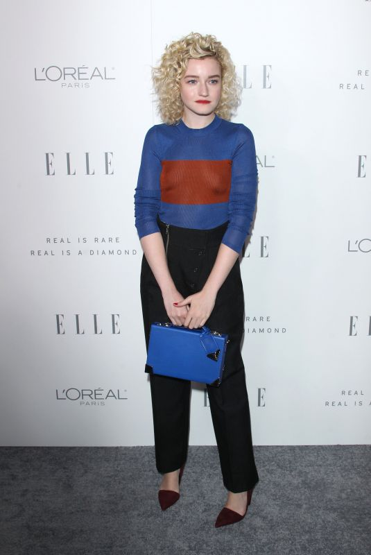 JULIA GARNER at Elle Women in Hollywood Awards in Los Angeles 10/16/2017