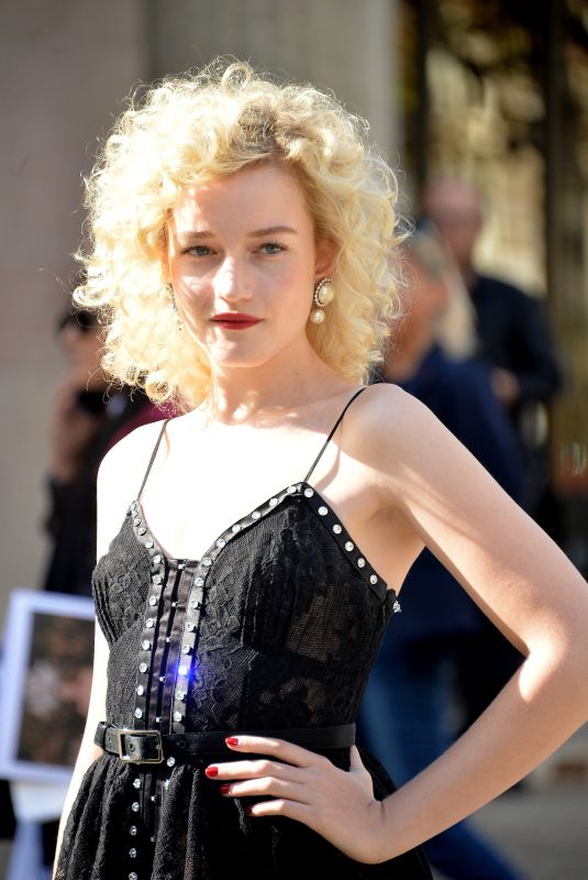 JULIA GARNER at Miu Miu Fashio Show in Paris 10/03/2017
