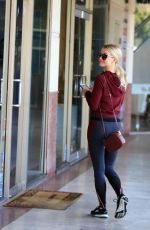 JULIANNE HOUGH Arrives at a Salon in Studio City 10/11/2017