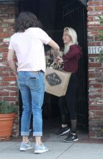 JULIANNE HOUGH Arrives at Dance Rehearsal in Los Angeles 10/19/2017