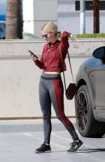 JULIANNE HOUGH at a Tanning Salon in Studio City 10/11/2017