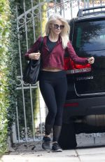 JULIANNE HOUGH Leaves a Friend