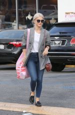 JULIANNE HOUGH Leaves Urban Outfitters in Studio City 10/20/2017