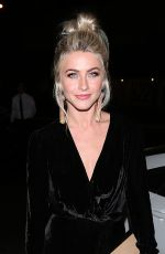 JULIANNE HOUGH Night Out in West Hollywood 10/11/2017