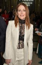 JULIANNE MOORE at Givenchy Fashion Show at Paris Fashion Week 10/01/2017
