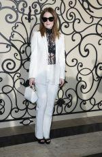 JULIANNE MOORE at Givenchy Fashion Show at Paris Fashion Week 10/01/2017