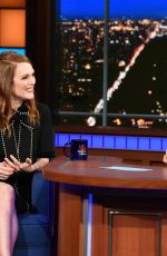 JULIANNE MOORE at Late Show with Stephen Colbert 10/26/2017