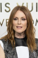 JULIANNE MOORE at Louis Vuitton's Boutique Opening at Paris Fashion Week 10/02/2017