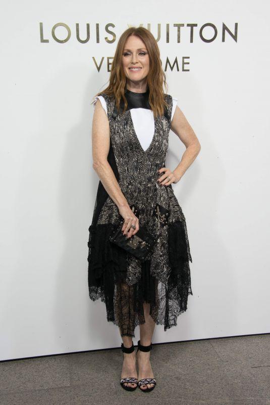 JULIANNE MOORE at Louis Vuitton's Boutique Opening at Paris Fashion Week 10/02/2017