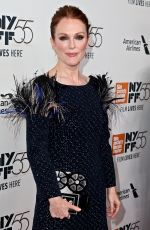 JULIANNE MOORE at Wonderstruck Premiere at 55th New York Film Festival 10/07/2017
