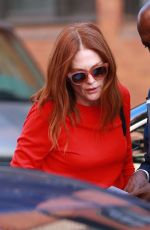 JULIANNE MOORE Out and About in New York 10/10/2017