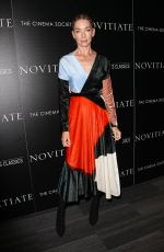 JULIANNE NICHOLSON at Novitiate Screening in New York 10/26/2017