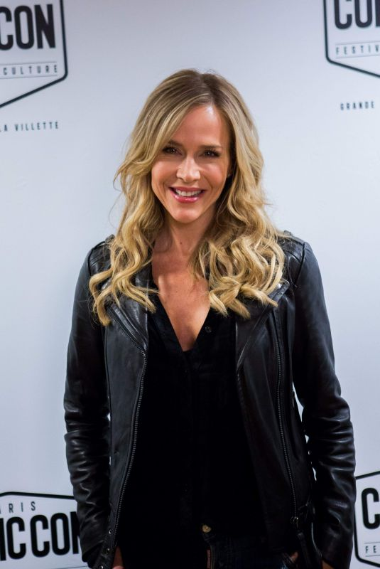 JULIE BENZ at Paris Comic-con at Grande Halle de la Villette 10/28/2017