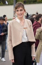 JULIE GAYET at Hermes Fashion Show at Paris Fashion Week 10/02/2017