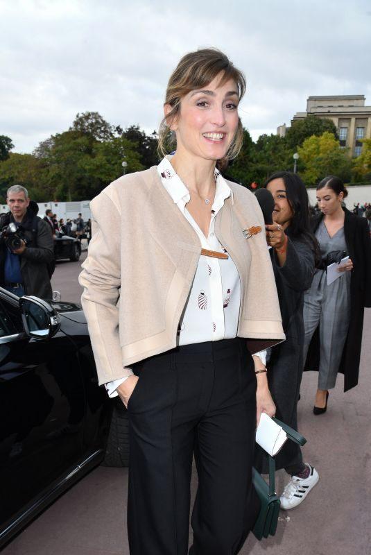JULIE GAYET at Hermes Fashion Show at Paris Fashion Week 10/02/2017